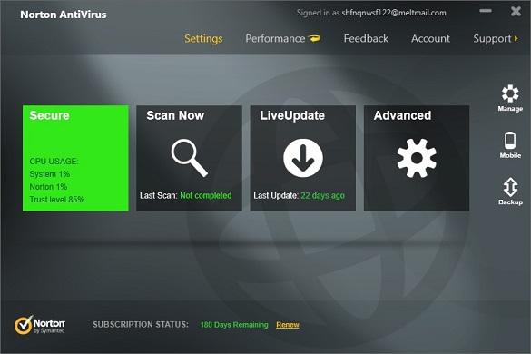 Norton Antivirus 2013 - Nhận key bản quyền 6 tháng miễn phí