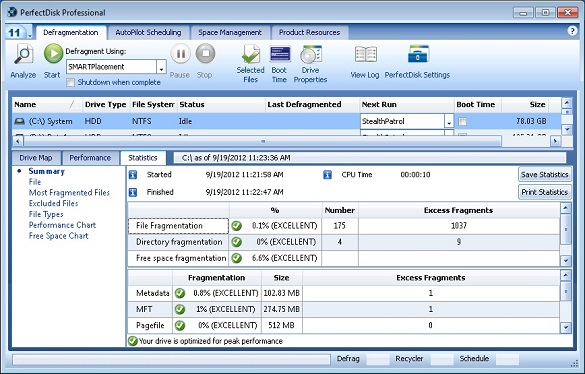PerfectDisk Pro 11 - Nhận key bản quyền miễn phí