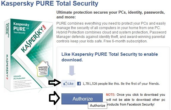 Kaspersky Pure 2.0 Total Security - Nhận key bản quyền 6 tháng miễn phí
