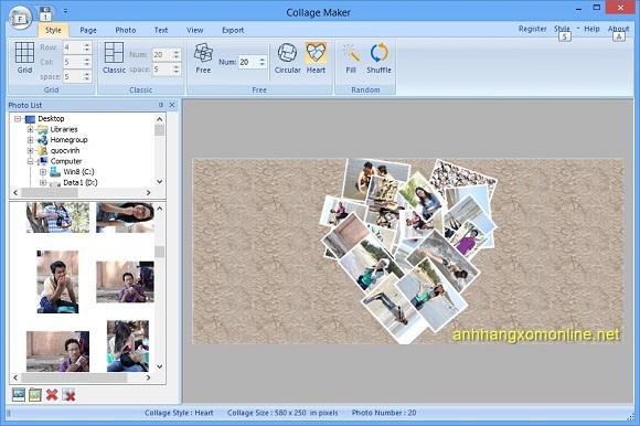Collage Maker for Windows - Nhận key bản quyền miễn phí