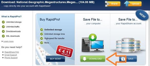 RapidShare gỡ bỏ giới hạn download cho tất cả user