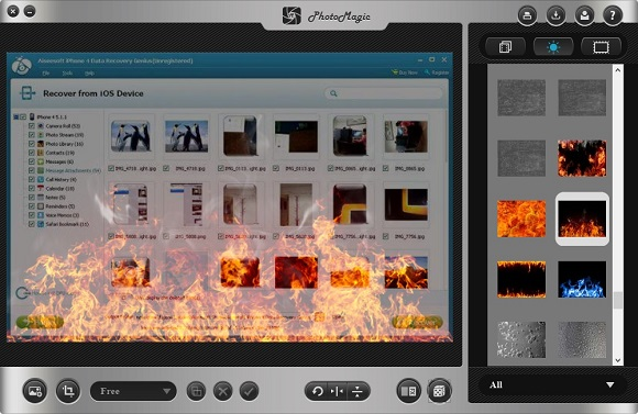 PhotoMagic for Windows - Tạo hiệu ứng cho hình ảnh
