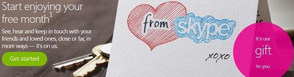 Miễn phí tài khoản Skype premium trong 1 tháng