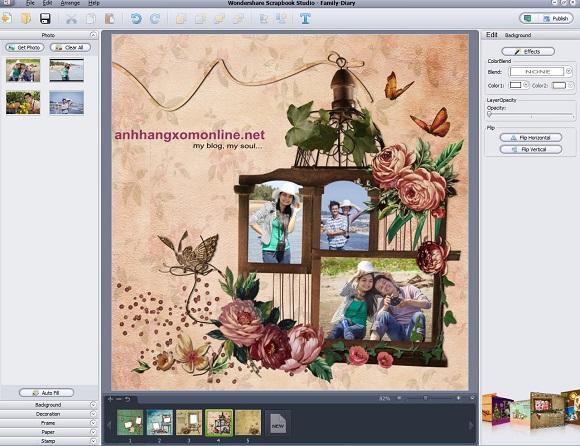 Wondershare Scrapbook Studio - Nhận key bản quyền miễn phí