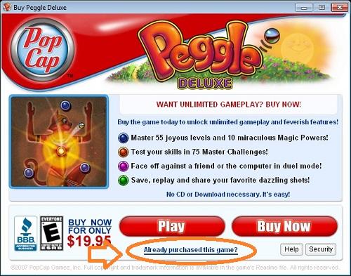 Popcap Game Peggle - Tải bản full miễn phí