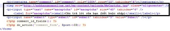 Tránh spam cho blog WordPress