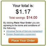 Tên miền .com với giá $1 tại GoDaddy