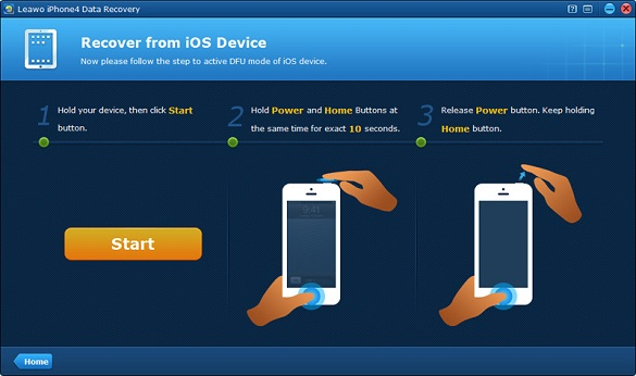 Leawo iOS Data Recover - Phần mềm khôi phục dữ liệu cho iPhone/iPad