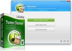 Leawo Tunes Cleaner - Phần mềm tìm kiếm thông tin file nhạc