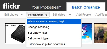 Một vài thủ thuật khi sử dụng Flickr