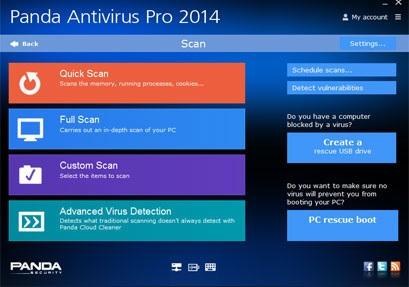 Panda Antivirus Pro 2014 - Nhận key bản quyền 6 tháng miễn phí