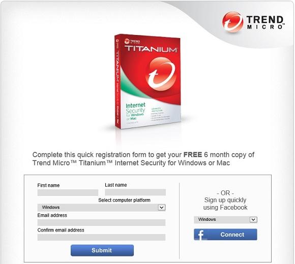 Trend Micro Titanium Internet Security - Nhận key bản quyền 6 tháng miễn phí