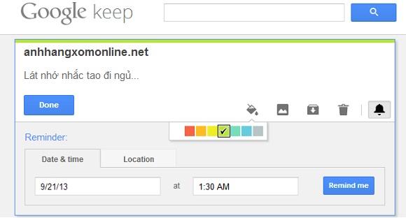 Google Keep - Tạo ghi chú, nhắc nhở và đồng bộ giữa các thiết bị