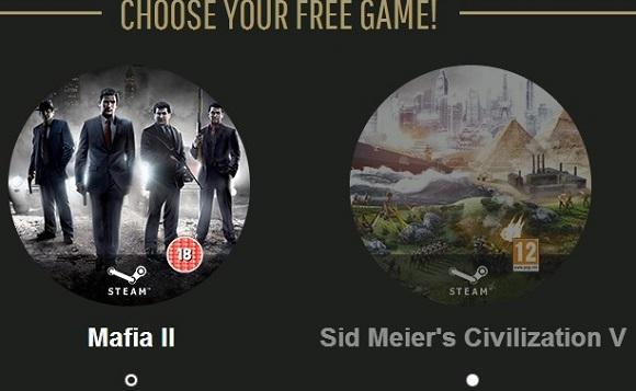 Bầu chọn Golden Joystick Awards và nhận game bản quyền Mafia 2 hoặc Sid Meier's Civilization V miễn phí