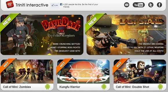 Triniti Interactive Limited tặng hàng đống game miễn phí cho iOS và Android