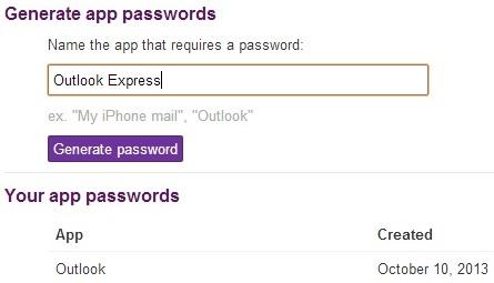 Cấu hình sử dụng Yahoo!Mail trên Outlook và Thunderbird