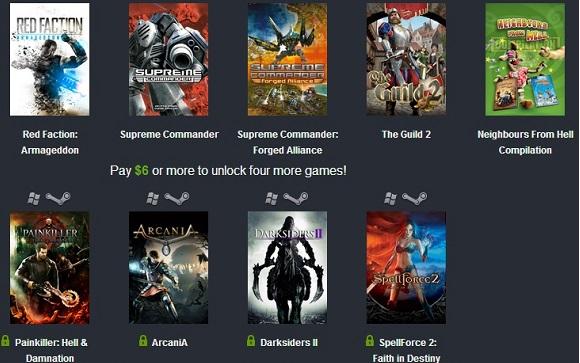 Game bản quyền miễn phí từ Nordic Games và Humble Bundle