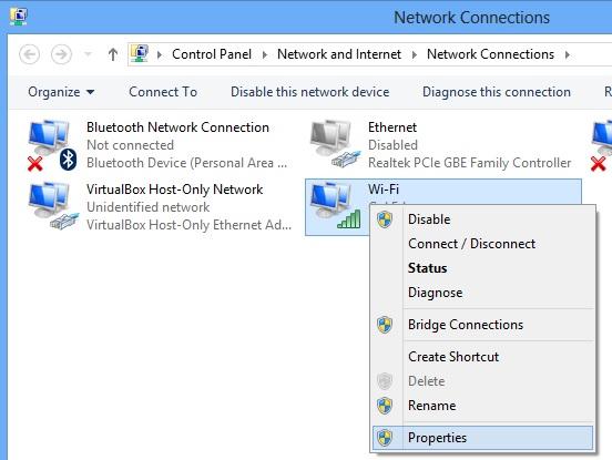 Khi không thể truy cập máy tính trong mạng LAN bằng kết nối Wifi