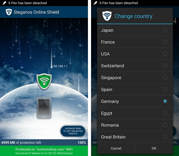 Steganos Online Shield VPN đã