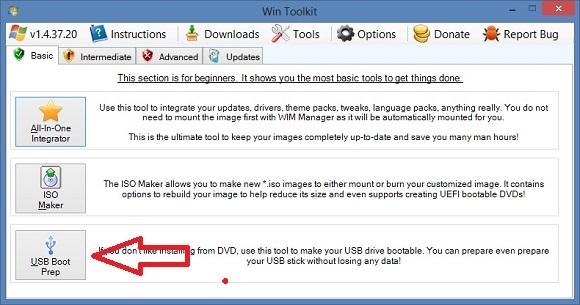 Tạo USB cài Windows mà không cần phải format