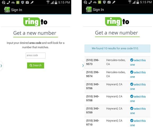 GooveIP Lite Free Calls - Lấy số điện thoại và gọi điện thoại qua Mỹ miễn phí