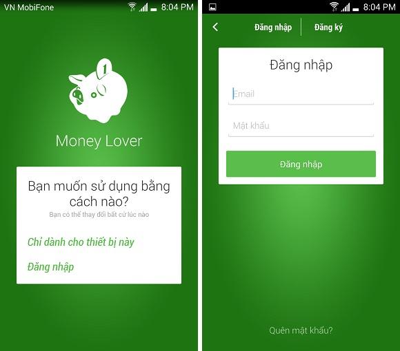 Tặng 50 key bản quyền ứng dụng quản lý tài chính Money Lover