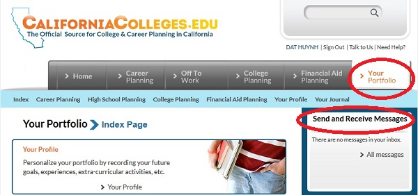 Tạo địa chỉ email @californiacolleges.edu miễn phí