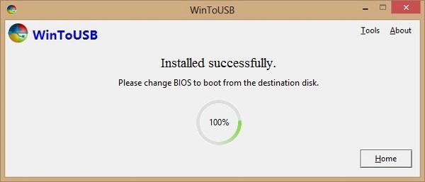 WinToUSB - Windows to Go - Cài Win lên USB sử dụng bất kỳ đâu