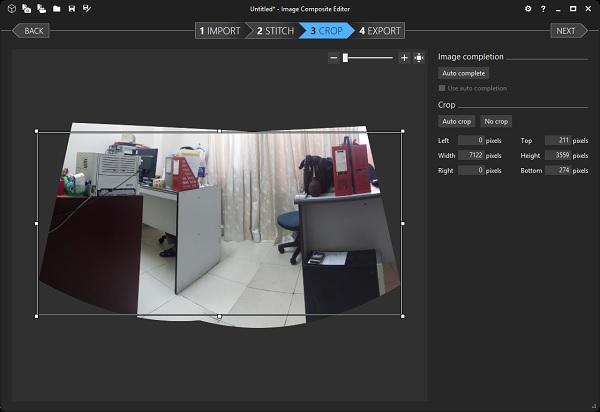 Tạo ảnh 360 và Panorama với Microsoft Image Composite Editor