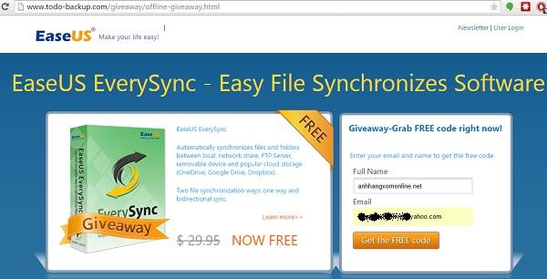 EaseUS EverySync - Phần mềm đồng bộ dữ liệu cực dễ