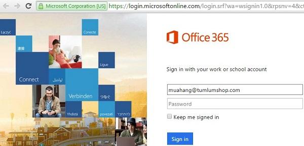 Tìm lại MX records của Microsoft custom domain