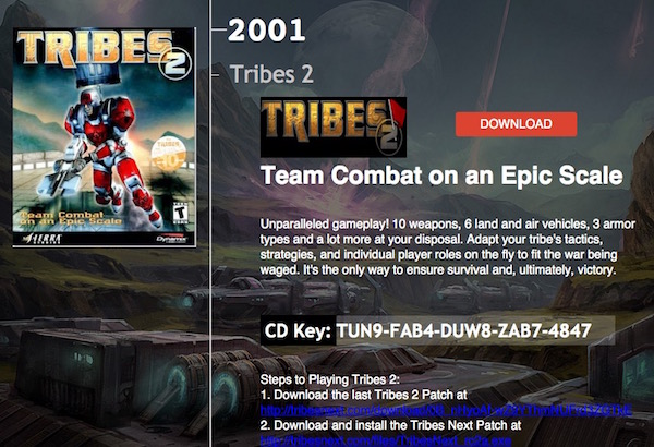 Tribes : Ascend free download license key