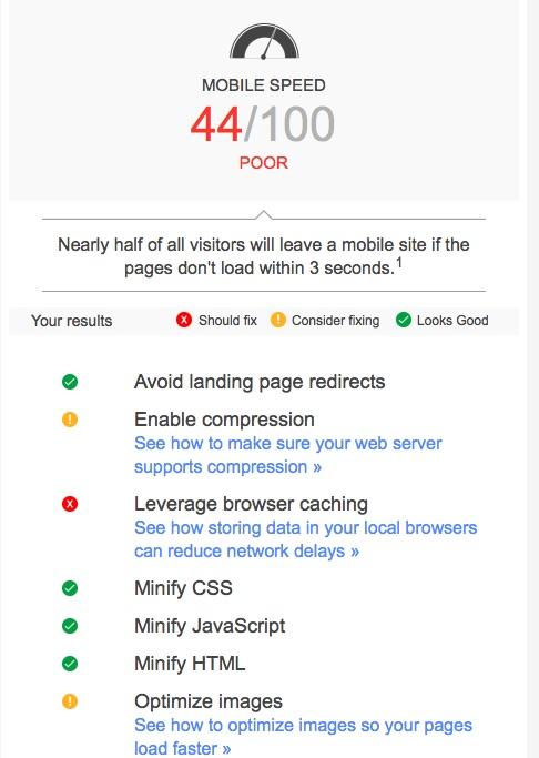 Phân tích website với Think with Google