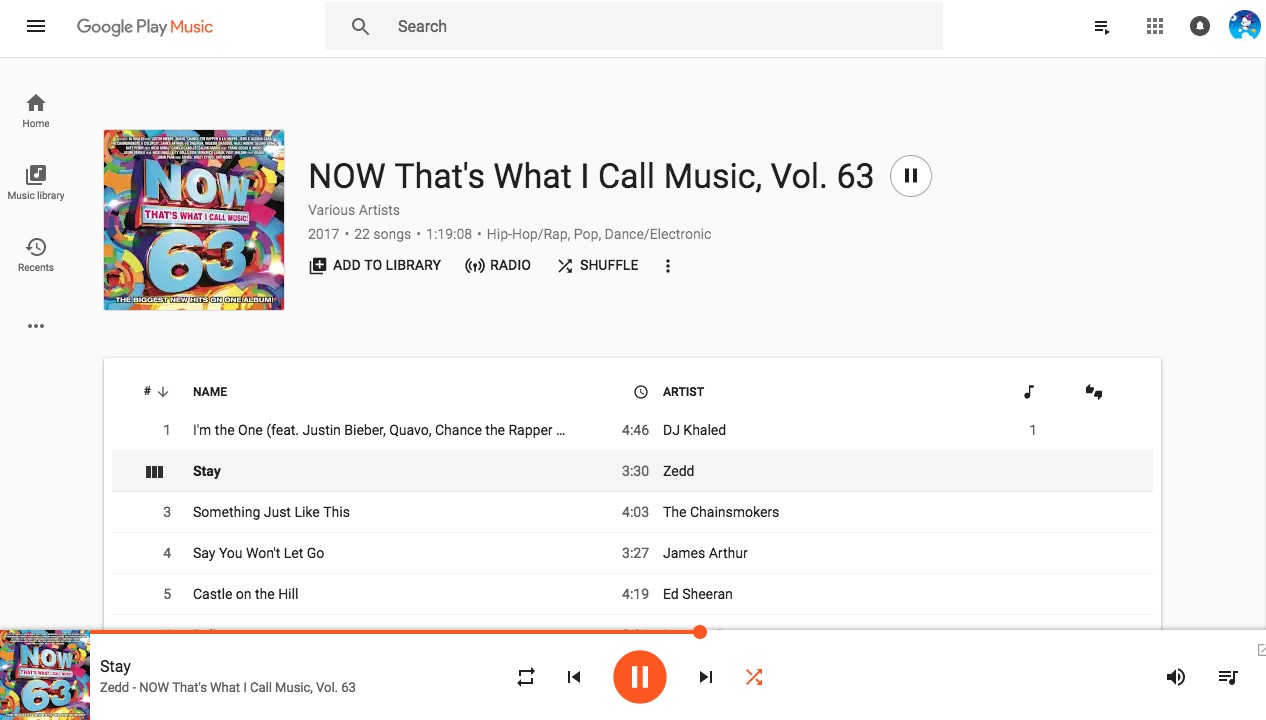 4-Months of Google Play Music & YouTube Red Subscription