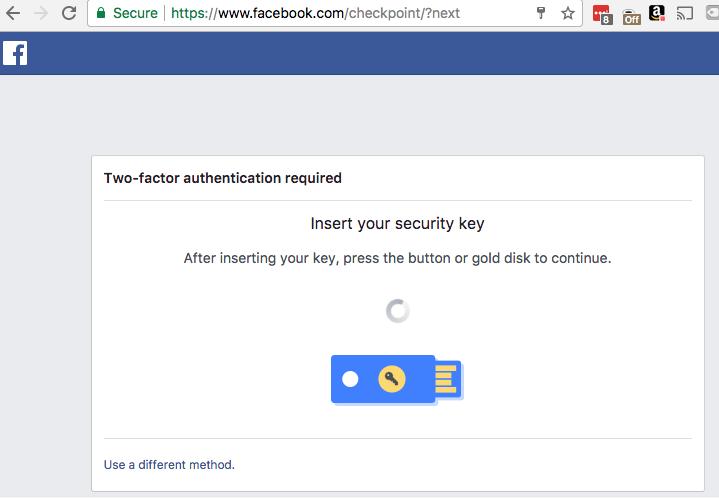 Bảo vệ tài khoản Facebook, Google và máy tính với Yubikey 4