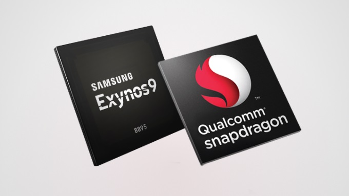 Samsung Galaxy Note 8 : Qualcomm Snapdragon 835 vs Samsung Exynos 9